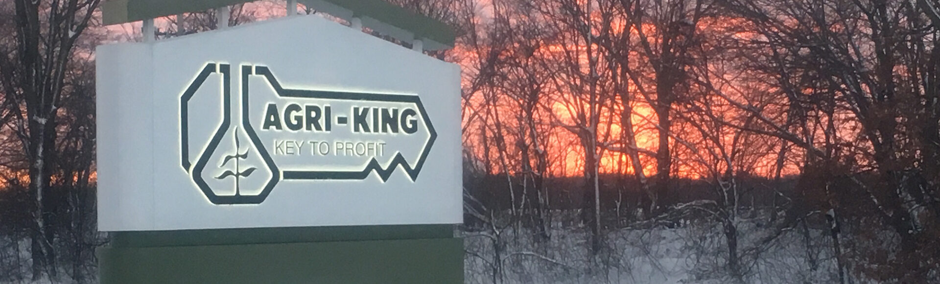 Agri-King - Key to Profit - Sunset Sign photo